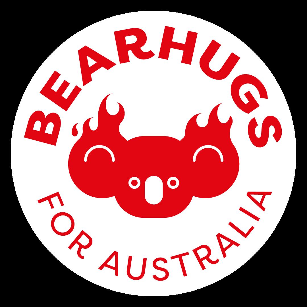 Bear Hugs for Australia Logo
